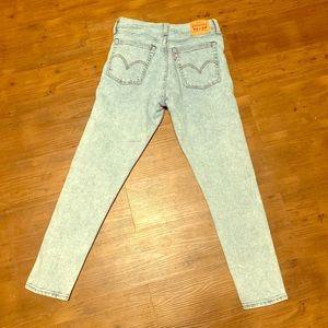 Levi Wedgie Skinny Jeans